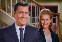 "Excellent match, for a married TV sitcom couple | Dick York and Elizabeth Montgomery of ""Bewitched"""