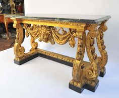William Kent Console Tables | From a unique collection of antique and modern console tables at https://www.1stdibs.com/furniture/tables/console-tables/
