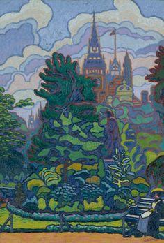Maurice Denis, Walter Crane, Lady Godiva, Georges Seurat, Robert Burns, Gustav Klimt, Auguste Herbin, Patrick Heron, Nausicaa