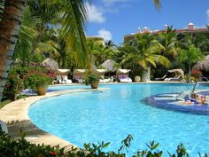 The pool at the Paradisus Punta Cana - the resort is good for couples so I'd love to go back with my husband. Read my review at http://wanderingcarol.com/paradisus-punta-cana-and-paradisus-palma-real-review/
