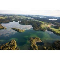 Chiemgau, Langbürgner See, Naturschutzgebiet Eggstätt-Hemhofer Seenplatte, Fototapete, Merian, Fotograf: P. Becker