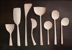 Blackcreek Mercantile Wooden Serving Spoons, made by Joshua Vogel and exclusive to MARCH in San Francisco