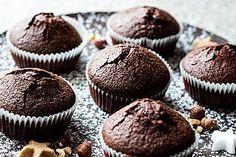 Muffins für einige Allergiker geeignet Zutaten  100 gSonnenblumenöl, alternativ Walnussöl o. ä. 120 gZucker 3 Ei(er) 150 gMandel(n), gemahlen o. gemahlene Nüsse n. B. 4 EL, gehäuftKakaopulver