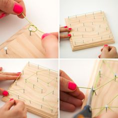 How to make string a