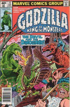 Godzilla #22 (Marvel)