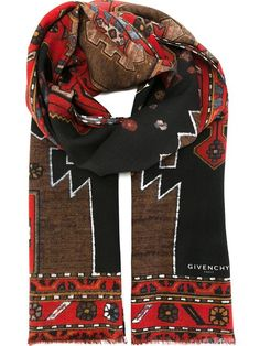 Givenchy Schal mit Navajo-Print