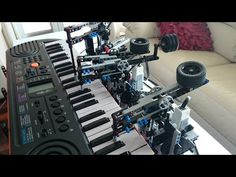 On Longing Piano Cover by Lego Mindstorms EV3 - YouTube