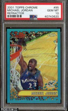 2001 Topps Michael Jordan Basketball Card for sale online Basketball Cards, Basketball Players, Michael Jordan Wizards, Jeffrey Jordan, Bill Russell, Michael Jordan Chicago Bulls, Magazine Covers, Mj, Trading Cards