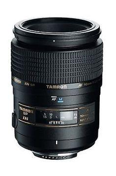 Tamron AF 90mm f/2.8 Di SP AF/MF 1:1 Macro Lens for Nikon Digital SLR ... NO TAX