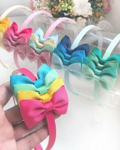 Wholesale 10 Organza gift bag 60 Bobble 20 Clip 10 Headband Party Child size
