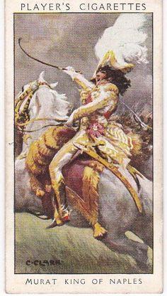 Cigarette Card Player s DANDIES No. 23 Murat King of Naples : Beau Sabreur