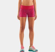 """My new favorite workout shorts!!      Women's HeatGear® Sonic 2.5"""" Printed Shorty 