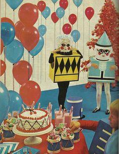 1960's Children's Costume Party