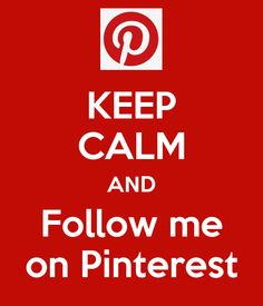 Keep calm and just follow me