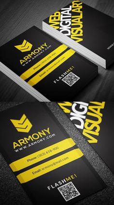 Designers Business Card PSD Templates - 17 #businesscards #psdtemplates #businesscarddesign #premiumbusinesscards
