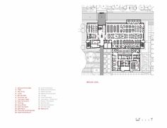 Image 15 of 17 from gallery of Golden West College / Steinberg Architects. second floor plan School Plan, Ground Floor Plan, Training Center, How To Level Ground, Planer, Floor Plans, College, Flooring, How To Plan