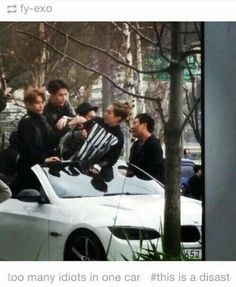 It's not a disaster XD it's a miracle that these idiots managed to somehow get into the same car