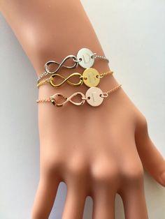 Infinity Bracelet personalized bracelet eternity by JFYJewelry