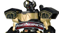 Mighty Morphin Power Rangers Legacy Collection Dino Megazord Figure (Pow...