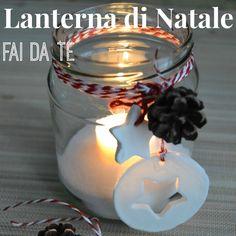 Come fare una lanterna di Natale con un barattolo di vetro