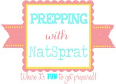 "New blog by NatSprat, fully dedicated to all things ""preppy"". Self reliance, food storage, emergency preparedness, DIY, frugal living, etc! It's time to make being prepared FUN!"