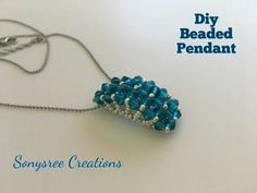 Charming Pendant ! Super Easy Tutorial - YouTube | businka | Postila