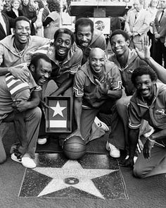 1970s Star Basketball Teams | The Harlem Globetrotters - Hollywood Star Walk - Los Angeles Times