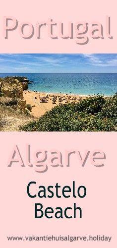 Bij Vale de Parra in de #Algarve in #Portugal liggen 5 prachtige en zeer verschillende stranden, die je bijna nooit in reisgidsen ziet. #GaleBeach #SalgadosBeach #CasteloBeach #CoelhaBeach #StRafaelBeach Algarve, Dutch, Travel, Castle, Europe, Viajes, Dutch Language, Destinations, Traveling