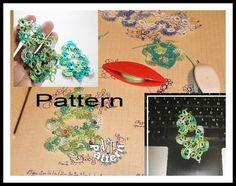 Christmas tree pattern, Tutorial, PDF Tatting pattern, Christmas decoration, tatting pattern by TattingPatternDesign on Etsy