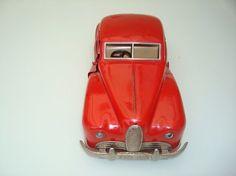 "JEP, France - Lengte 35 cm - Blikken ""Delahaye"" Sedan met uurwerkmotor en verlichting, jaren 50 - Catawiki"