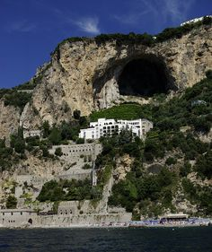 Amalfi coast, Campania, Italy.  Go to www.YourTravelVideos.com or just click on photo for home videos and much more on sites like this.
