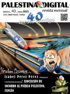 Ya está en la Red el número 40 de la Revista PALESTINA DIGITAL Marzo 2015. Feliz lectura