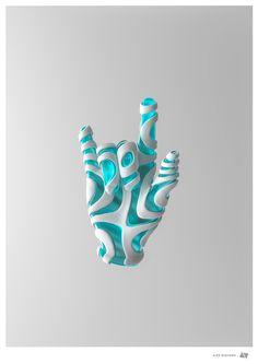 Gestures by Alex Diaconu #digital #art