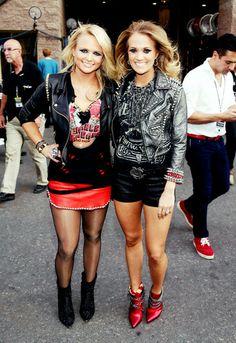 Miranda and Carrie