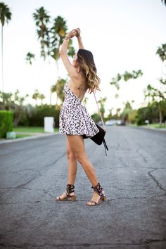 Playsuit Moment in Palm Springs, California - Song of Style Style Palm Springs, I Love Fashion, Spring Fashion, Teen Fashion, Style Fashion, Song Of Style, My Style, Estilo Cool, D Avila