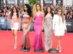 Fifth Harmony from iHeartRadio Much Music Video Awards 2016 Red Carpet Arrivals  Camila Cabello, Normani Hamilton, Dinah-Jane Hansen, Lauren Jauregui and Ally Brooke are ready to work, work, work down the carpet.