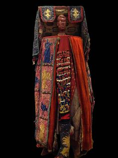 Africa | Complete Egungun costume from the Egun society, from the  Yoruba people Nigeria | ca. 1970