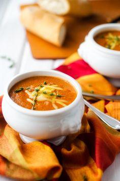 Tomato Cheddar Quinoa Soup - Cooking Quinoa