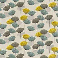 Sanderson fabric dandelion clocks