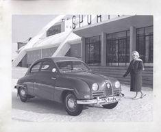 1958 Saab 93B ORIGINAL Factory Photograph wy6164   eBay