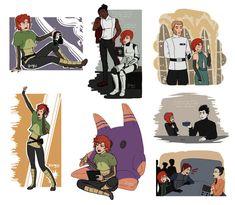 Inktober 01 by Star Wars Comics, Star Wars Humor, Star Wars Jedi, Star Wars Rebels, Female Stormtrooper, Star Wars Ships, Star Wars Fan Art, Sonic Art, Anakin Skywalker