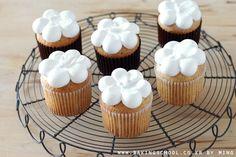 카네이션데코 컵케익(딸기쨈 컵케익) - 베이킹스쿨(교훈:배워서남주자)