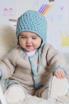 Kostenlose Anleitung: Babyjacke & -mütze - Initiative Handarbeit