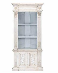 corner china cabinet