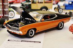 Revell Ford Torino. I like the paint scheme.