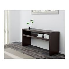 IKEA - LACK, Sofa table, , Can be placed behind a sofa, along a wall, or be used as a room divider.Separate shelf for magazines, etc. helps you keep your things organized and the table top clear.