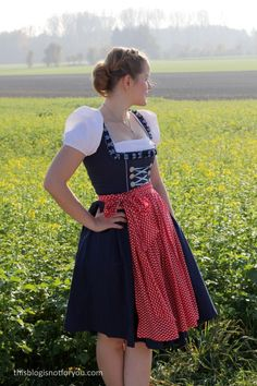 I'm finally sharing my handmade Dirndl with you! I made it in May which feels like ages ago now. So why would I make a Dirndl if i… Dirndl Dress, Dress Up, Drawing People, Bodice, Costumes, How To Make, Handmade, Inspiration, Clothes