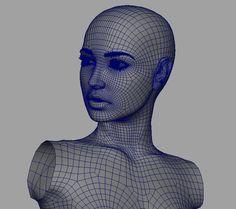 Close Up portraits, David Moratilla Amago (3D)