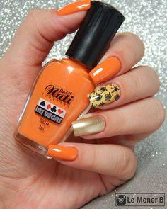 #nails #nail #fashion #style #laranja #cute #beauty #beautiful #orange #pretty #girl #girls #stylish #sparkles #styles #gliter #nailart #art #opi #esmalte #essie #unhas #preto #branco #rosa #love #shiny #polish #nailpolish #nailswag