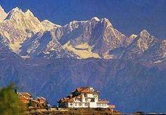 Nagarkot, Nepal Where I saw seven/ten  of the highest  mountains of the world.